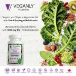 Vegan Multivitamin with high B12 – best for vegans- from VEGANLY Vitamins