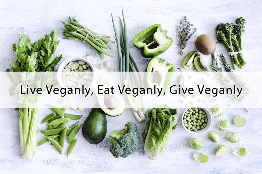 Live Veganly, Eat Veganly, Give Veganly by Veganly Vitamins - Vegan Multivitamin