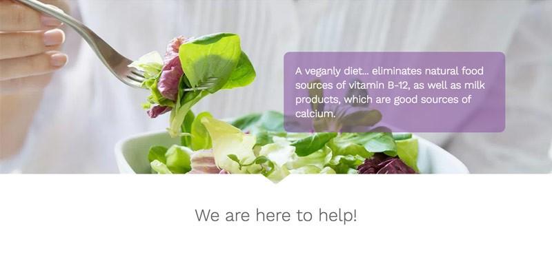A veganly diet - Vegan Multivitamin
