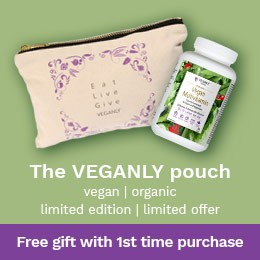 The VEGANLY pouch: Free gift - Veganly Vitamins