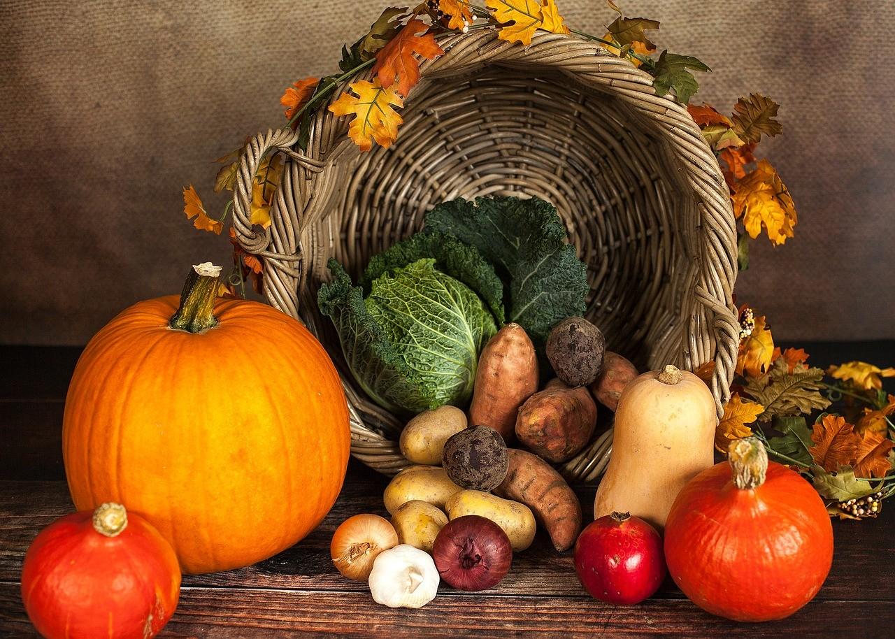 veganly vitamins pumpkin and fruits